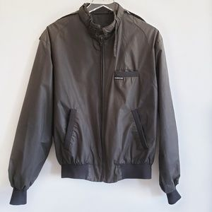 Members Only dark grey jacket size 40